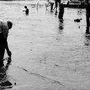 ゴダヴァリ川で沐浴