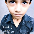 Upturned Eyes Of A Boy @ India
