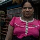インド系ミャンマー人の女性