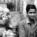 Man At A Greengrocery @ India