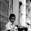 Boy In The Road @ India