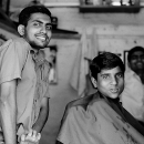 Men In A Barber @ India
