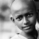 Boy With Clean-shaven Head @ Bangladesh