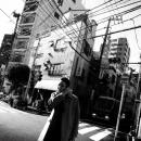 Business Man Wearing A Coat @ Tokyo