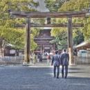 Business Suits In Meiji Jingu @ Tokyo