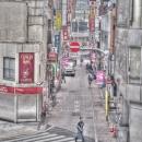Man At The Crosswalk @ Tokyo