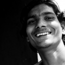 Young Man Shows His Teeth @ India