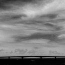 Silhouette Of Ikema-Ohashi Bridge