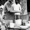Man In A Tea Stand @ India