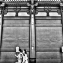 Young Couple In Senso-Ji