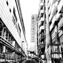 Slope Between Buiuldings @ Tokyo