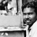 Man Showed His Teeth @ India