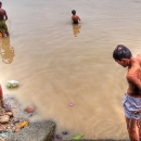 People In The River