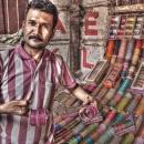 Man Sells Bracelets @ India