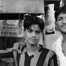 Two Men At A Chai Stand @ India