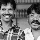 Two Men With Mustache @ India