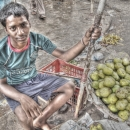 Boy Selling Mango @ India