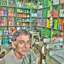 Man Sitting In The General Store