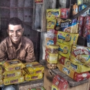 Man In The Heap Of Biscuits @ India