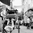 Rickshaw Wallah Filled With A Feeling Of Weariness @ India