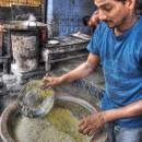 Man Cooks Biryani