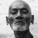 Clean-shaven Head And Untidy Beard @ India