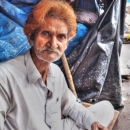 Old Man With Brown Hair @ India