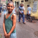 Boy Smiles In The Lane
