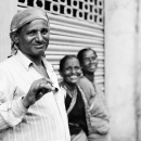 Man Smiled And Women Laughed @ India
