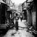 Wet Alleyway In Kolkata @ India