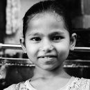 Face Of A Girl @ India