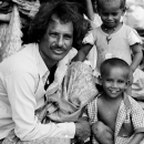 Father And Two Child @ India