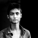 Blank Look Of A Young Man @ India
