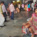 Girl In The Sealdah Station @ India