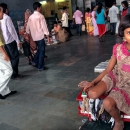 Girl In The Sealdah Station
