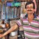 Master Of A Tea Stand @ India