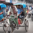 Cycle Rickshaw Is The Central Character @ India