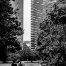 Couple In Hamarikyu Gardens