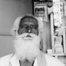 Long And White Beard @ India