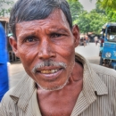 Man With Mustache @ India