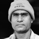 Man Wearing A Knit Hat @ India