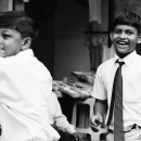 Smiling Boy With A Tie @ India