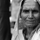 Woman Wearing A Veil @ India