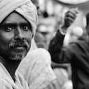 Eyes Of A Turbaned Man @ India