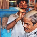 Tonsure In The Barber @ India