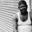 Man Wearing A Tank Top @ India