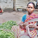 Woman Selling Okra @ India