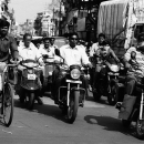 Motorbikes Started Running