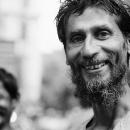 Man With Bushy Beard @ India