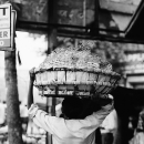 Man Carries A Big Basket @ India